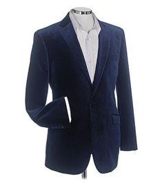 Samuel Windsor Velvet Jacket Navy 48R TD086 EE 10 #fashion #clothing #shoes #accessories #mensclothing #suitssuitseparates (ebay link)