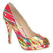 These are amazingly colorful... and they have a clutch to match! $50 everyday