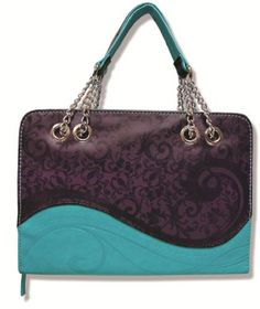 Purse-Style-Purple-Wave-Large-Bible-Cover-with-Faceted-Jewel-Accents-074725