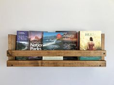 Hey, I found this really awesome Etsy listing at https://www.etsy.com/listing/499406042/rustic-book-shelf-kids-book-storage-book