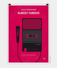 Chungkong, Almost Famous, Minimal Movie Poster