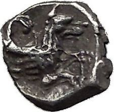 LARANDA in LYCAONIA 324BC Baaltars Wolf Genuine Ancient Silver Greek Coin i55726