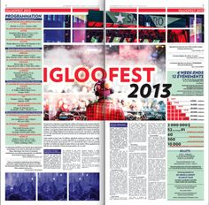Igloofest on Behance
