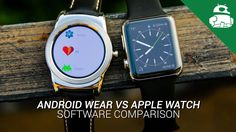 awesome Android Wear VS Apple Watch: Software Comparison