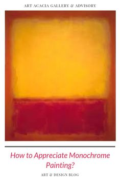 Monochrome Paintings Explained: A Thousand Meanings of a Single Color Monochromatic Paintings, Monochrome Painting, World Trends, Black Canvas, Color Theory, Art Market, Art World, Lovers Art, Canvases