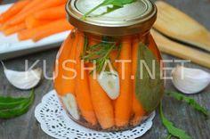 Маринованная морковь на зиму. Пошаговый рецепт с фото