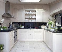 Spacious Small U Shaped Kitchen