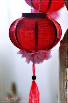 how to make a chinese lantern ks2