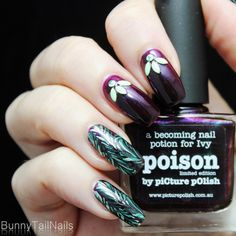 BunnyTailNails: Poison (Ivy) by piCture pOlish