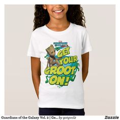 Guardians of the Galaxy Vol. 2 | Get Your Groot On Kids T-Shirt