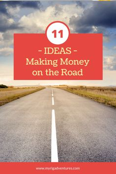 If you can find ways to make money while you're on the road or travelling full-time, then you'll be able to keep your dream alive much longer. There are literally dozens of ways to keep the cash flowing, you just need to be creative and put your skills to good use. Don't be afraid to do something different. #money #budget #travel #travelling #funding