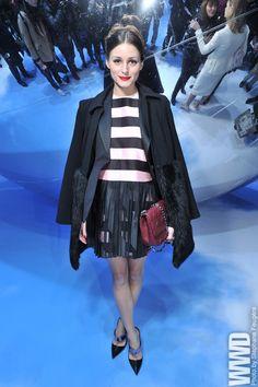 Olivia Palermo Front Row at Dior