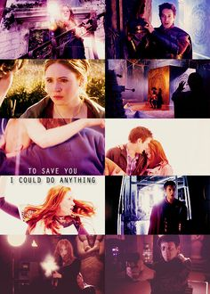 Amy and Rory with guns. hope The Doctor doesnt know about this