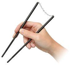 Nunchops Nunchunk Shaped Chopsticks