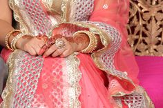 #Coral #Lehenga #indian bride