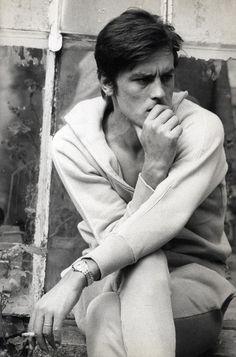 Alain Delon, 1960s via the60livehere