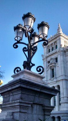 Luminárias de Madrid