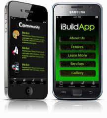 iBuildApp Website - Students build their own apps