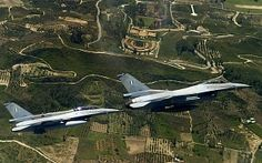 Greek airforce pilot flies his F16 to Turkey to withdraw cash.