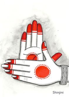 The Odissi Hand Gesture - Chakra Hasta Mudra High quality Gilcee Print on Decor Watercolour art paper Print - x - Print - x - Print - x - Print - x - Dance Paintings, Indian Art Paintings, Abstract Paintings, Oil Paintings, Madhubani Art, Madhubani Painting, Krishna Painting, Art Drawings Sketches Simple, Pencil Art Drawings