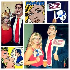 Pop Art Comic Book Characters - Halloween 2013