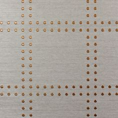 Phillip Jeffries Rivets in steel grey for RTT Study with cherry wood, antique brass, polished nickel and gloss white