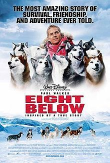 Eight Below is a 2006 American adventure drama film directed by Frank Marshall and written by David DiGilio.