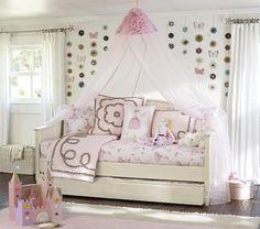 Beds/Headboards - Madeline Daybed & Trundle   Pottery Barn Kids - kids daybed and trundle, ivory daybed and trundle, childs daybed and trund...