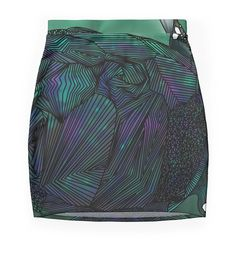 """""""Sea Turtle"""" Pencil Skirts by Ben Geiger 