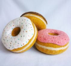 felt donuts!