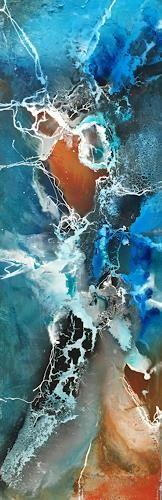 """Ursi Goetz, """"Hineinspringen"""" Mit einem Klick auf """"Als Kunstkarte versenden"""" versenden Sie kostenlos dieses Werk Ihren Freunden und Bekannten."""