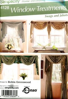 10 Images About Valance Patterns On Pinterest Sewing Patterns, Window Treatments And Arts photo - 5
