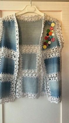 Browse lots of Free Crochet Patterns. We have compiled crochet pattern and knitting patterns. See all of crochet and knitting patterns. Crochet Patterns Amigurumi, Knitting Patterns Free, Baby Knitting, Gilet Crochet, Knit Crochet, Free Crochet, Vest Pattern, Free Pattern, Gilet Jeans