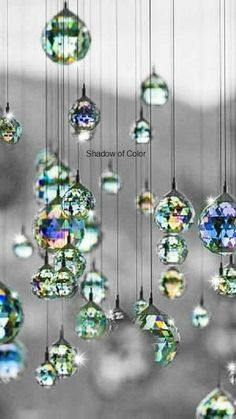 Life Is Beautiful Whichever Way U Look At It! by Desiree Marie on Life Is Beautiful Whichever Way U Look At It! by Desiree Marie on Feng Shui, Carillons Diy, Sun Catchers, Hanging Crystals, Beaded Curtains, Diy Hanging, Mobiles, Krystal, Life Is Beautiful