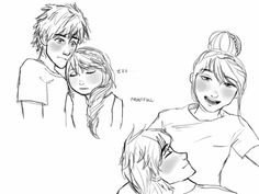 Beautiful ♡ Hiccstrid ^.^ ♡ I give good credit to whoever made this  I found this in hiccstridfanart.tumblr.com