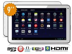 Tablet PC 9'' 8Gb 1,2Ghz Dual Core 2D/3D Android 4.1