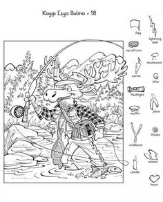 Highlights in the Classroom Puzzles For Kids, Activities For Kids, Hidden Pictures Printables, Highlights Hidden Pictures, Hidden Picture Puzzles, Hidden Words, Fall Coloring Pages, Hidden Objects, Activity Sheets
