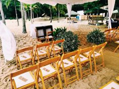 Leo - Roma's Beach Wedding Ceremony catered & styled by Auster's Catering & Events Planning.  Venue: Kota Keluerga, San Juan, Batangas, Philippines