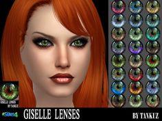 Tankuz Sims 3 Blog: The Sims 4. Giselle Lenses by Tankuz.