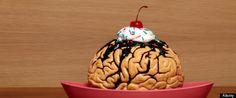 Items similar to Brain Sundae Zombie Snack Dessert with Cherry Fine Art Photograph Sunday on Etsy Zombie Food, Zombie Zombie, Funny Zombie, Zombie Girl, Zombie Party, Zombie Brains, Scary Food, Cherry Desserts, High Fat Foods
