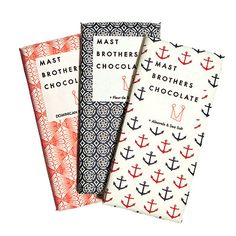 A History of New York in 50 Objects - Mast Brothers Chocolate of Williamsburg #packaging #design