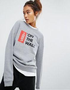 """Vans – Anthem – Sweatshirt mit """"Off The Wall""""-Logo"""