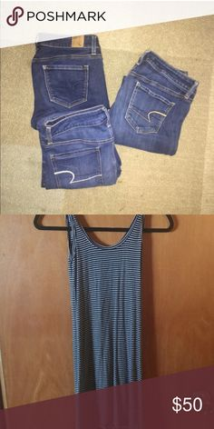 Bundle of dress and jeans Bundle Brandy Melville Other