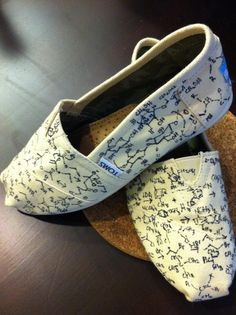 TOMS + organic chemistry = I knew I'd put all those notes to good use eventually... :)