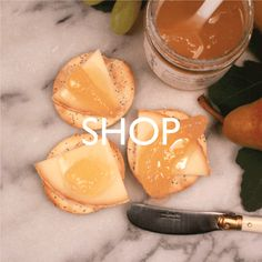 SHOP pickles and jams
