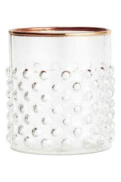 Vzorovaná sklenička | H&M