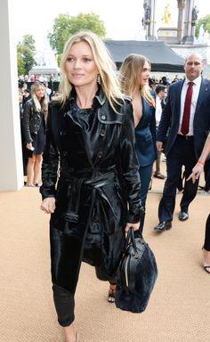 Kate Moss   #LFW Burberry Spring 2015
