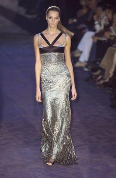 Daria Werbowy at Gucci Fall 2005