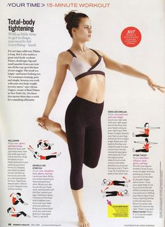 15 minute workout - to do so i can wear all the pretty dresses i pin......