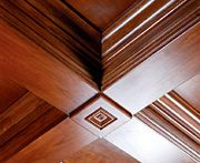How to build perfect coffered ceilings--definitely doing this in our great room!